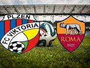 Viktoria Plzen Roma streaming live gratis per vedere su siti web, canali tv, link