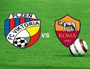 Viktoria Plzen Roma streaming live gratis. Vedere su siti web, link