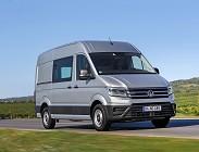 Prezzi e dotazioni Volkswagen Crafter 2019