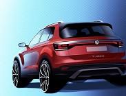 Volkswagen T-Roc 2019, nuovo suv compatto
